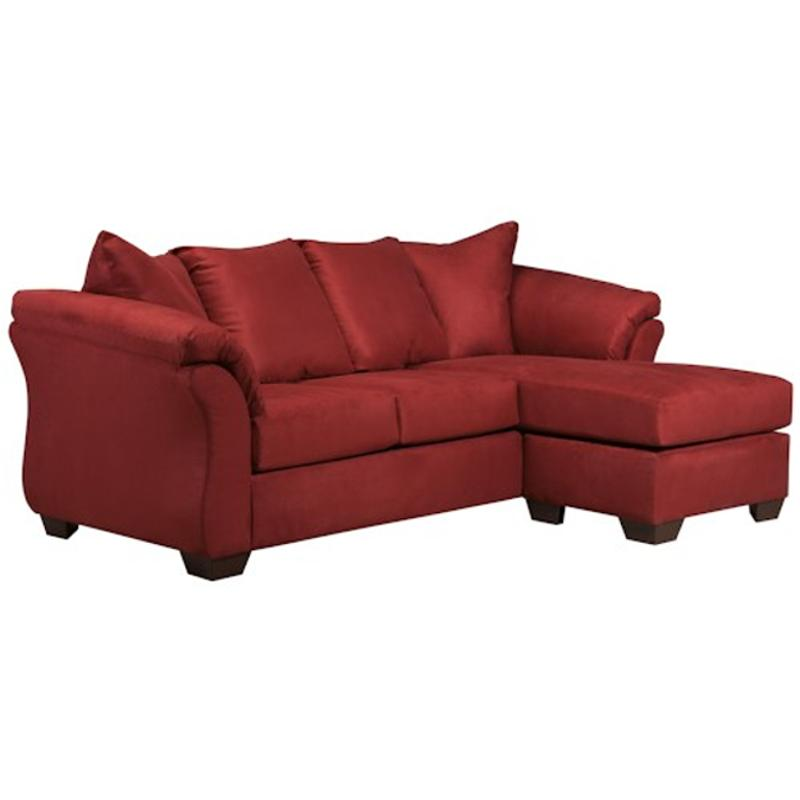 7500118 Ashley Furniture Darcy Salsa, Ashley Furniture Darcy Sofa Chaise