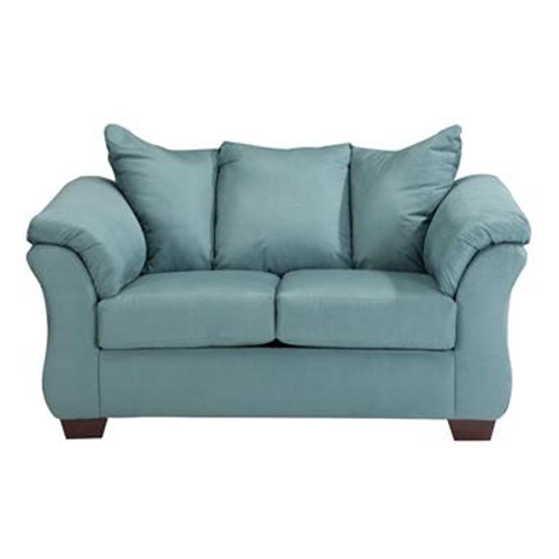 7500635 Ashley Furniture Darcy Sky, Ashley Furniture Darcy Loveseat