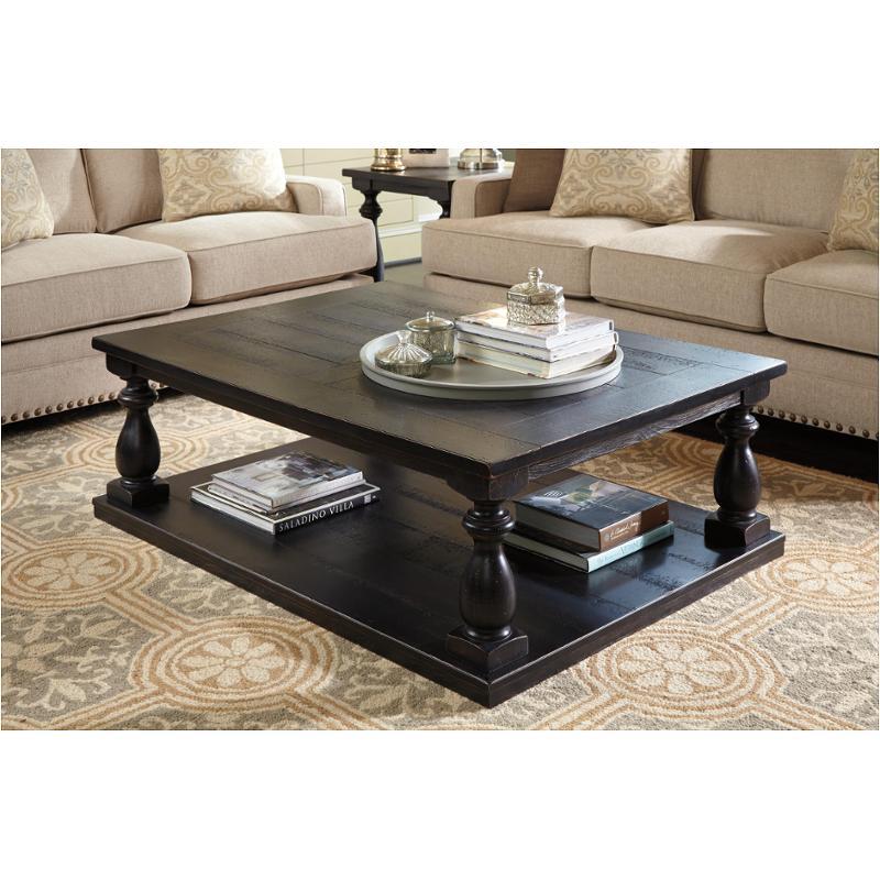 T880 1 Ashley Furniture Rectangular Cocktail Table