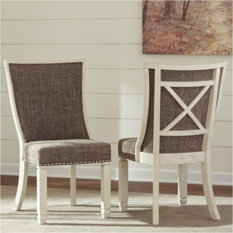 D647 02 Ashley Furniture Bolanburg Dining Upholstered Side Chair