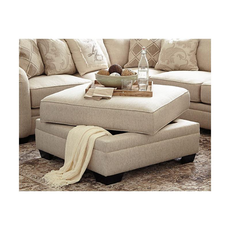 5250111 ashley furniture luxora living room ottoman with