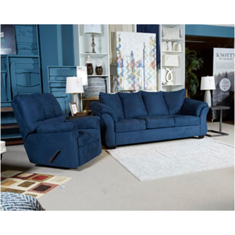 7500738 Ashley Furniture Darcy Blue Living Room Sofa