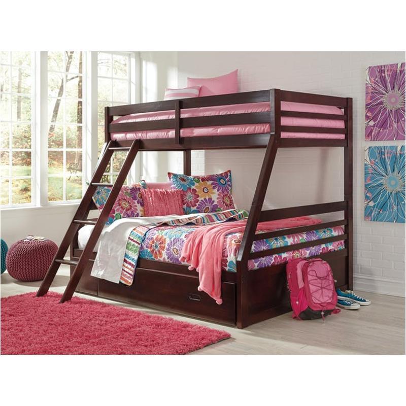 B15-15r Ashley Furniture Halanton Ladder And Bunk Bed Rails