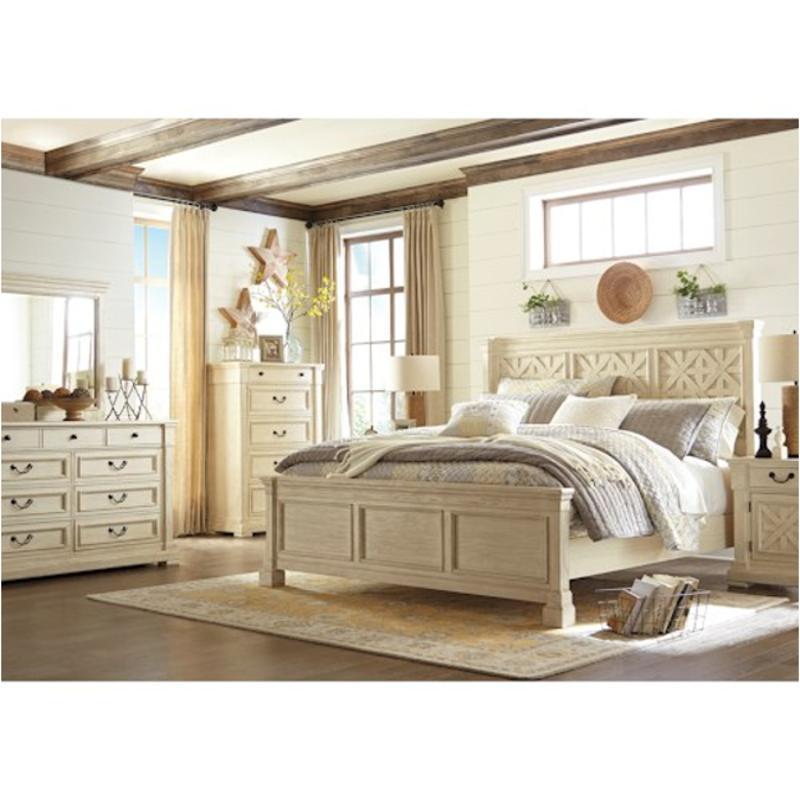 B647 58 Ashley Furniture Bolanburg, King Bed Ashley Furniture