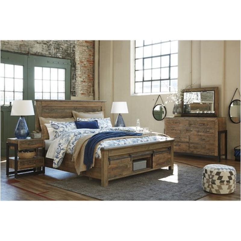 B775 78 Ck Ashley Furniture King California King Panel Bed Ck