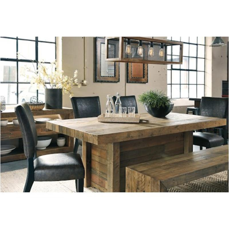 D775 25 Ashley Furniture Sommerford Rectangular Dining Table