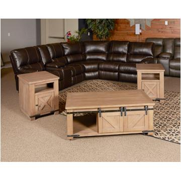 T837 3 Ashley Furniture Aldwin Living Room Rectangular End Table