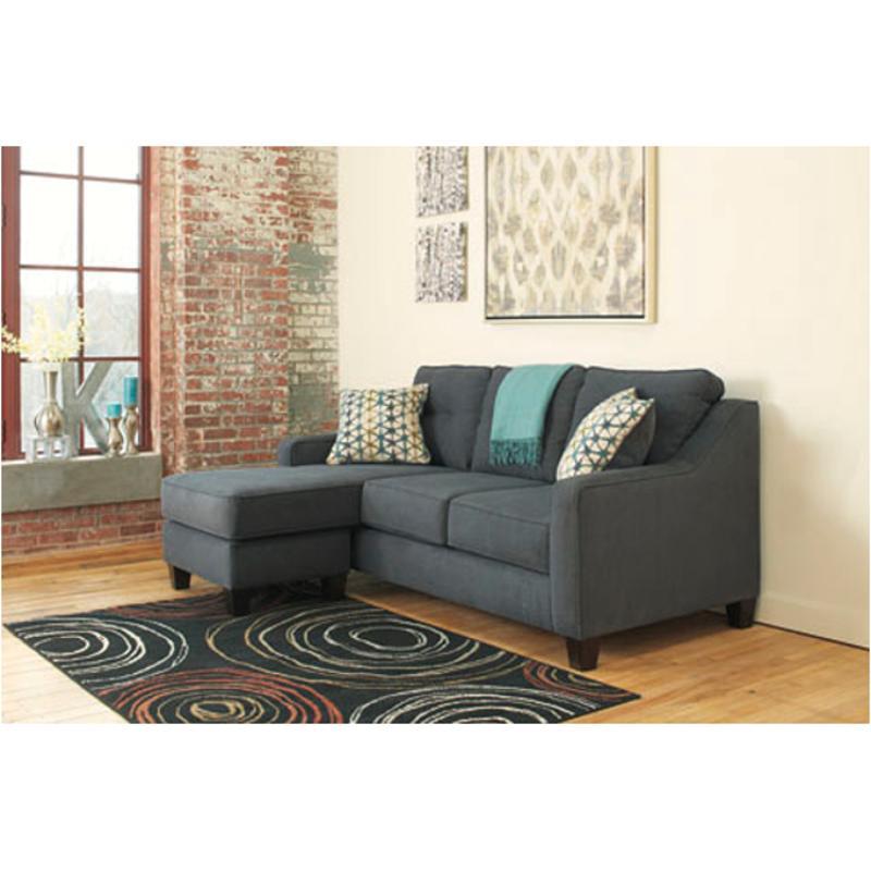 Shayla Dark Gray Sofa Chaise