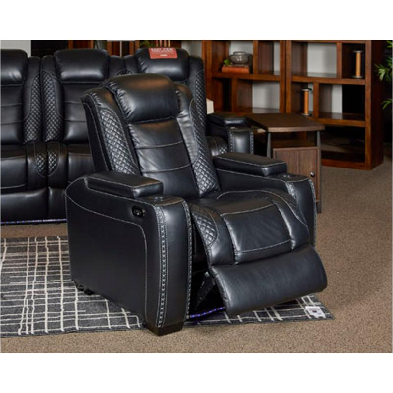 15 Ashley Furniture Party Time Power Recliner/adjustable Headrest