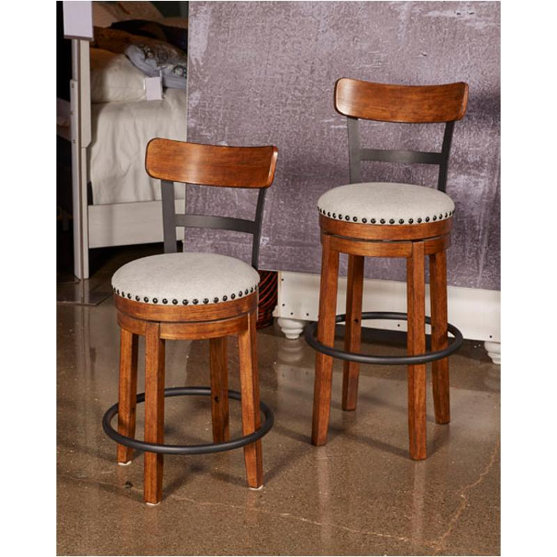 D546 430 Ashley Furniture Valebeck Tall Uph Swivel Barstool 2 Cn