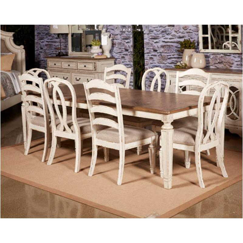 D743 45 Ashley Furniture Realyn Rect Dining Room Ext Table