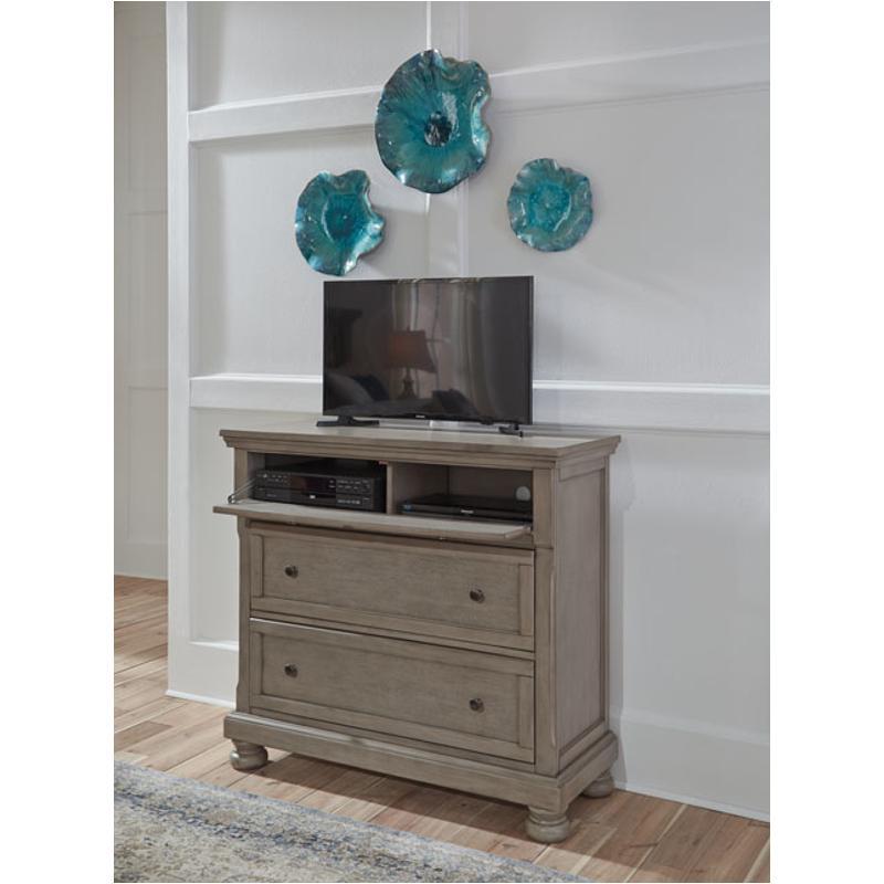 B733 39 Ashley Furniture Lettner Bedroom Media Chest