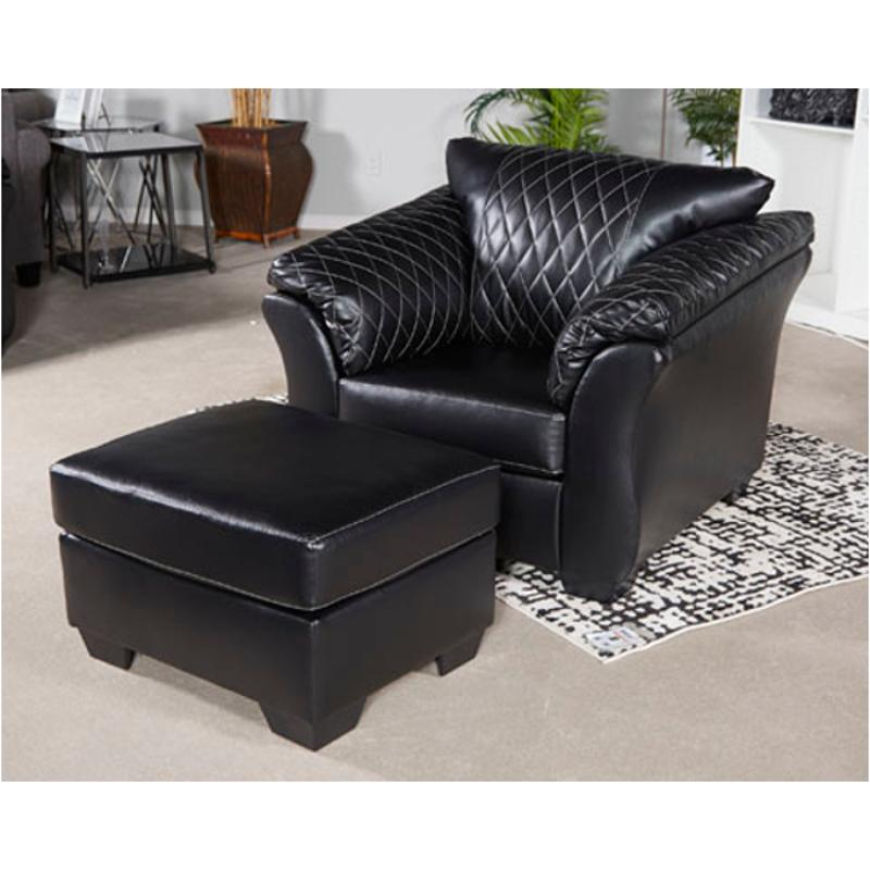 4050220 ashley furniture betrillo  black living room chair
