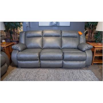 5350474 Ashley Furniture Denoron Gray Reclining Power Loveseat