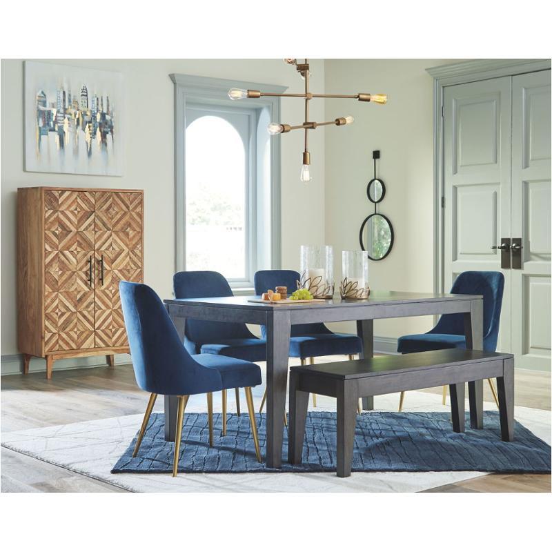 D672 25 Ashley Furniture Trishcott, Ashley Furniture Blue Dining Room Chairs