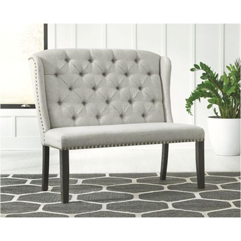 D702 08 Ashley Furniture Jeanette Dining Room Upholstered Bench