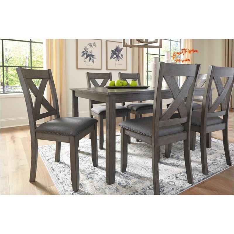 D388 425 Ashley Furniture Caitbrook Rectangular Dining Table Set