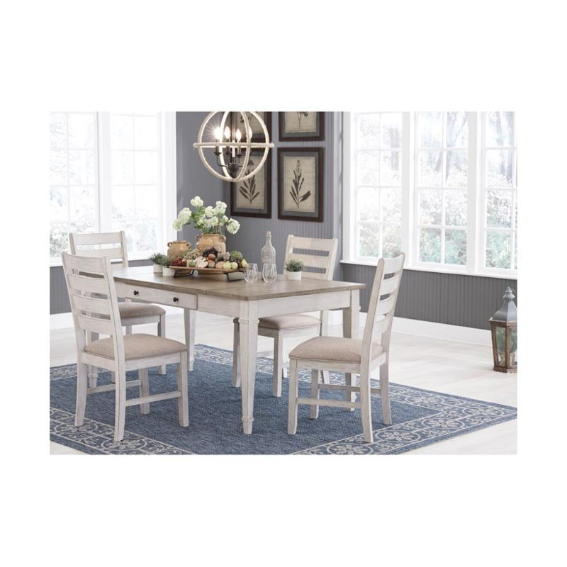 D394 25 Ashley Furniture Rectangular, Dining Room Table With Storage