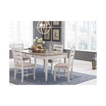 D688 55b Ashley Furniture Tanshire Double Pedestal Table Base