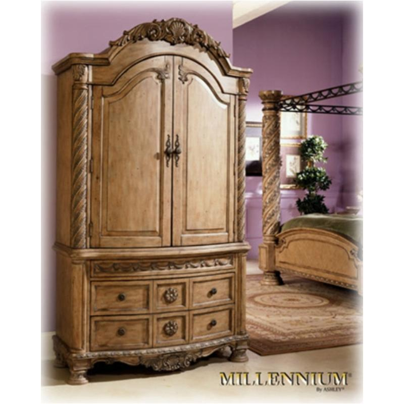 B547 49b Ashley Furniture South Shore Bedroom Armoire Base