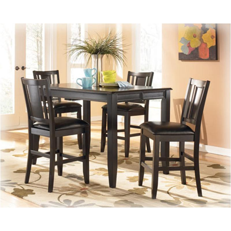 D371 32 Ashley Furniture Butterfly Leaf Counter Height Table