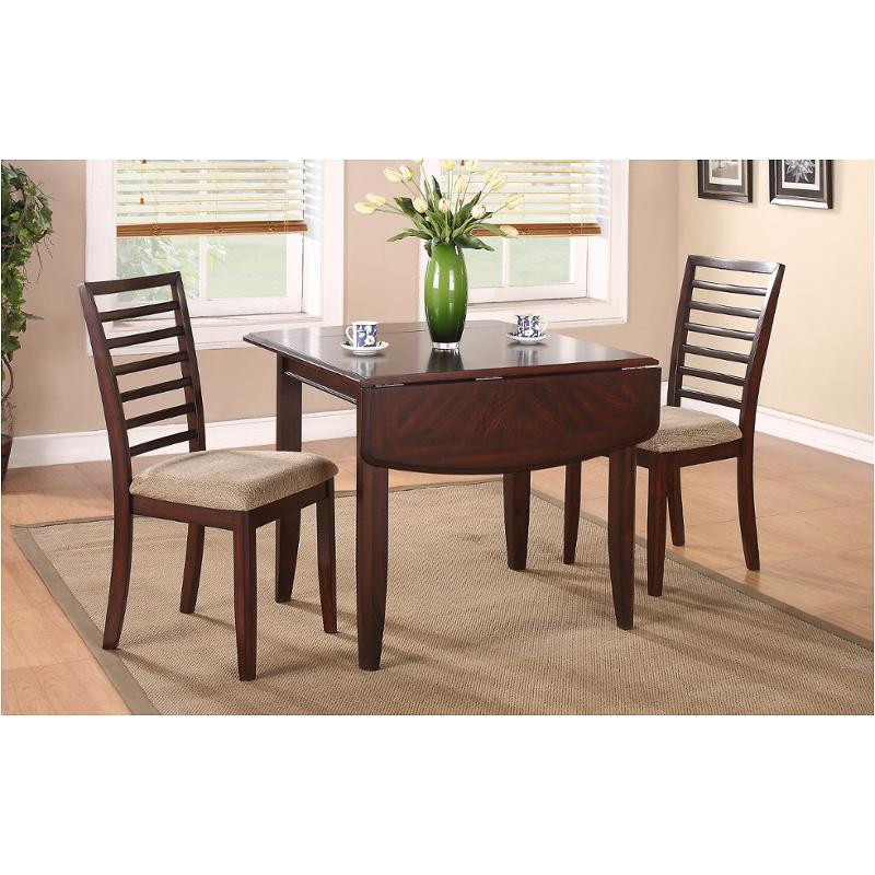 Db15c Winners Only Furniture Brownstone 15in Leg Table With 15in Drop  Leaves