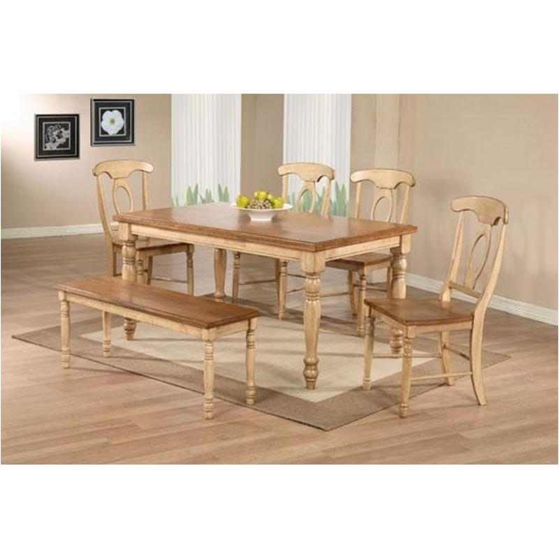 Dq15w Winners Only Furniture Quails Run - Wheat/almond 15in Leg Table -  Almond/wheat