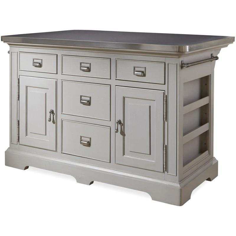 Simple Office Room Design, 599644 Universal Furniture The Kitchen Island Cobblestone